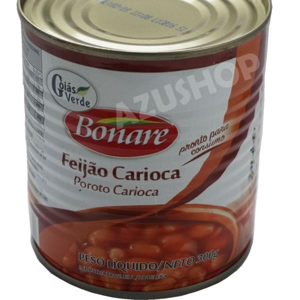 フェジョンの缶詰 うずら豆煮込み 300g ブラジル料理 feijao carioca GoiasVerde