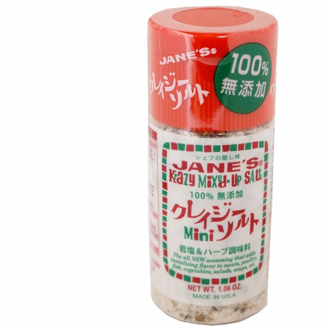 クレイジーソルト ミニ 30g ハーブ スパイス 塩 万能調味料 JANES