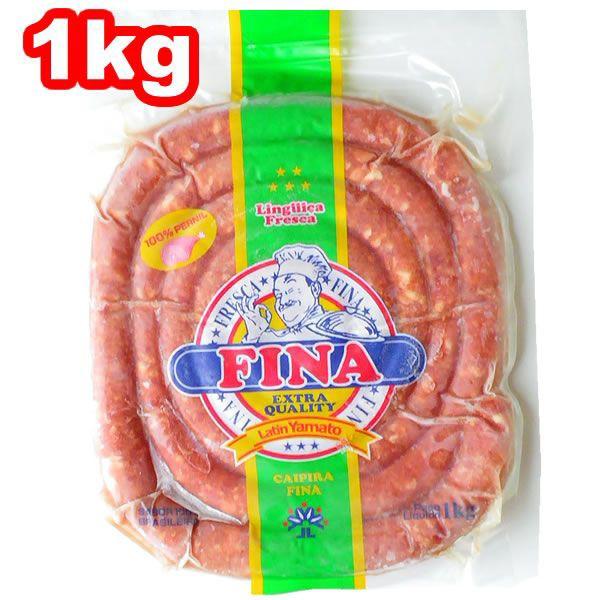ぐるぐるソーセージ リングイッサ フレスカ フィナ 1kg BBQ 冷凍 ラテン大和