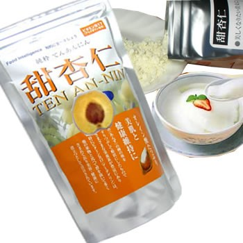 甜杏仁パウダー 200g 本物の杏仁粉使用 杏仁豆腐作りに最適