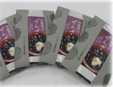 (国産)丹波黒豆ぜんざい(おしるこ) ギフトセット(240gx4)