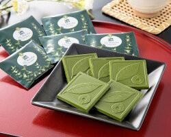 「宇治抹茶チョコレート」【濃】18枚(送料無料)