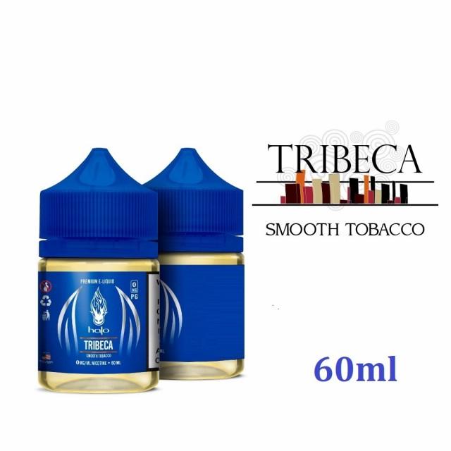halo Premium E-Liquid TRIBECA さらにお徳用60mlヘイロー プレミアムイーリキッド トライベッカ キャラメルとナッツの香りをほのかに感
