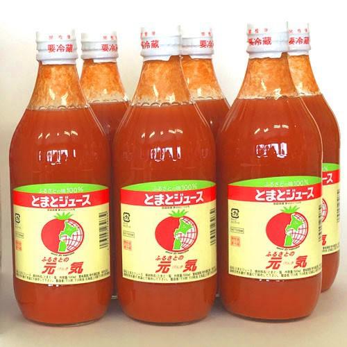 トマトジュース 元気 北海道 下川町 ふるさとの元気 500ml×30本 送料無料