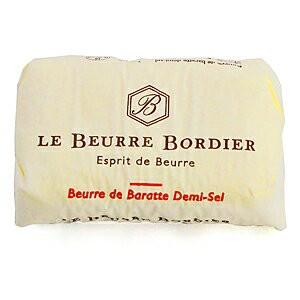 【毎週火曜〆切→翌週木曜発送】フランスブルターニュ産 ボルディエ 有塩発酵フレッシュバター 125g