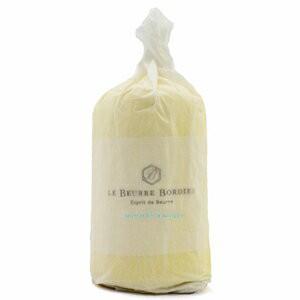 【毎週火曜〆切→翌週木曜発送】紙巻き フランスブルターニュ産 ボルディエ 発酵フレッシュバター 海藻入り 1kg