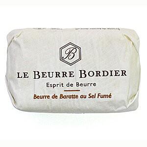 【毎週火曜〆切→翌週木曜発送】フランスブルターニュ産 ボルディエ フレッシュバター 燻製塩 125g