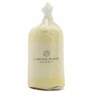 【毎週火曜〆切→翌週木曜発送】紙巻き フランスブルターニュ産 ボルディエ 発酵フレッシュバター オリーブオイル・レモン入り 1kg