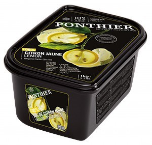 【冷凍】ポンティエ シトロンジョンヌ(地中海レモン) ピューレ 無糖 1kg