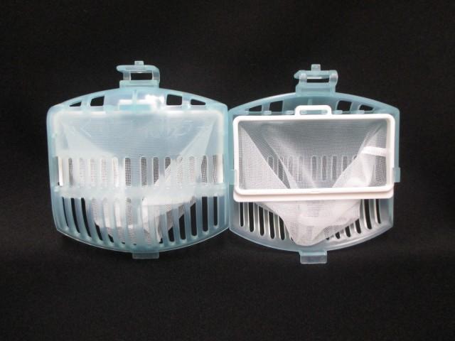 【定形外郵便対応可能】HITACHI(日立) NET-K8KV-001 洗濯機用 糸くずフィルター(ごみ取りネット)2個入