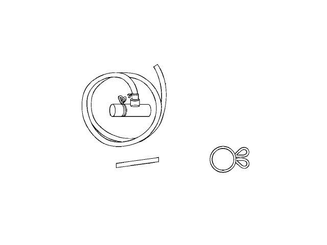 Panasonic(パナソニック) 洗濯乾燥機用 排水ホースセット 部品コード:ANH9057-4840