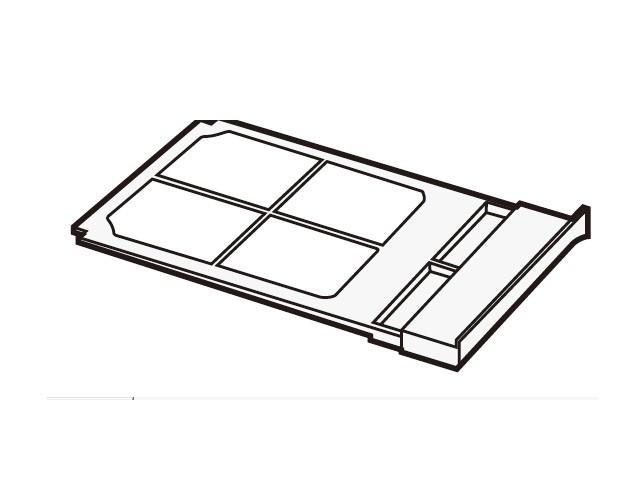 【定形外郵便対応可能】Panasonic(パナソニック) 部品コード:AXW2258-8SV0 フィルタB 洗濯乾燥機用部品