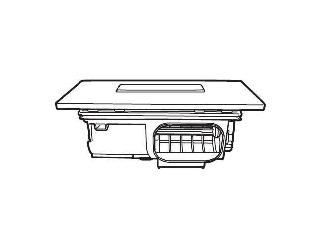 Panasonic(パナソニック) 部品コード:AXW2XK-7WZ5 乾燥フィルタ 洗濯乾燥機用部品