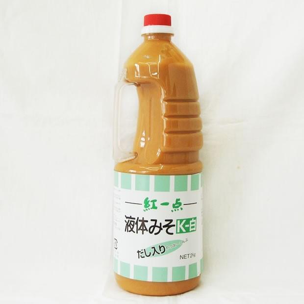 岩田醸造) 紅一点 液体みそ K−白 2kg