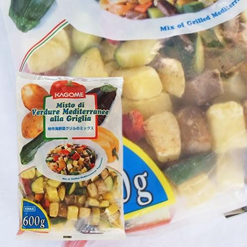 カゴメ) 地中海野菜グリルのミックス 600g