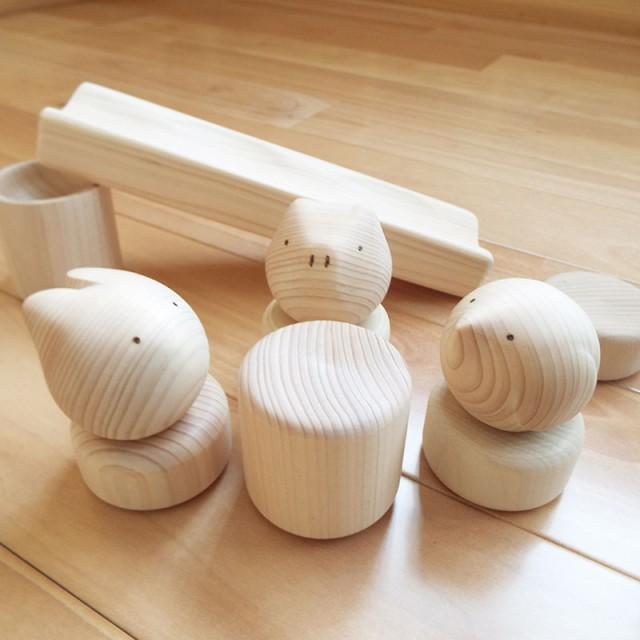 乳児 おもちゃ 国産 歯固め 赤ちゃん 指先の知育 0歳児 アニマル 動物 知育玩具 コロガルアニマルつみき 積み木 転がし遊び