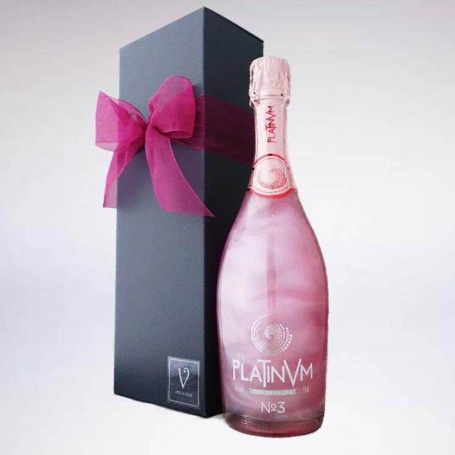 【プラチナム フレグランス】【No.3】【ローズ&オレンジ 】【スパークリングワイン】【Box 】【リボン包装】シャンパン セット ワイン