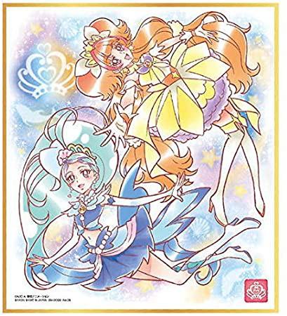 プリキュア 色紙ART3 キュアマーメイド&キュアトゥインクル 単品 色紙
