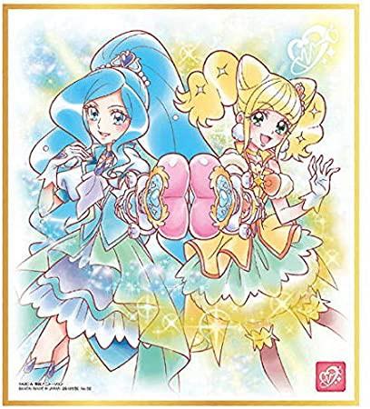 プリキュア 色紙ART3 キュアフォンテーヌ&キュアスパークル 単品 色紙