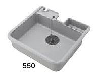 三栄水栓/SANEI【HW80-550】水栓柱パン