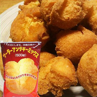 サーターアンダギー ミックス 500g (沖縄製粉)おきなわん(ドーナツ)の素♪ サーターアンダギー ミックス粉 サーターアンダギー 小麦粉(