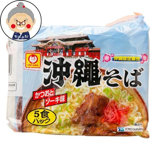 マルちゃん 沖縄そば 5袋入り インスタント沖縄そば 袋麺 |沖縄そば |
