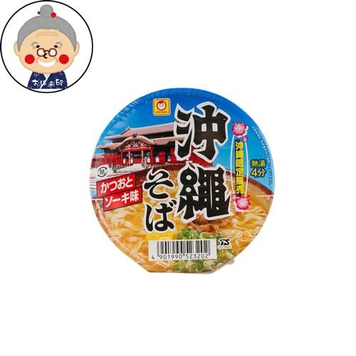 マルちゃん 沖縄そば ミニ インスタント カップ麺 まめ沖縄そば |インスタント麺 |