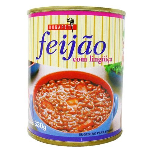 フェイジョン ソーセージ入り 330g feijao com linguica BONAPETT 【非常食】【保存食】【長期保存】