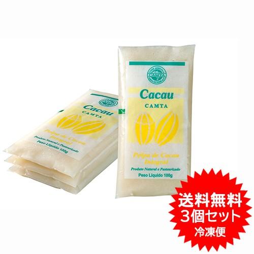 【送料無料】カカオパルプ フルッタ 400g×3パック 冷凍