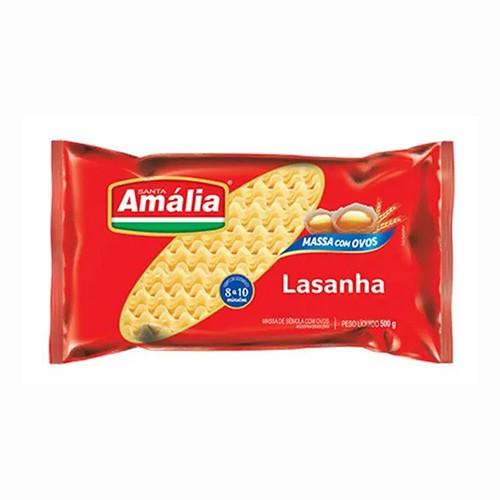 サンタアマリア ラザニア用パスタ オーヴォス 500g Santa Amalia Lasanha massa com ovos