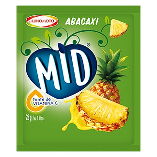MID パイナップル味 粉末 (1L用) MID Abacaxi