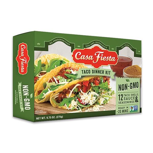 カサフィエスタ タコ ディナー キット 12枚 CASA FIESTA TACO DINNER KIT 275GR