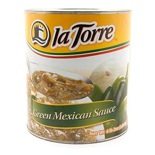 【業務用】グリーントマトソース(グリーンサルサ)缶詰 la Torre 2800g green mexican sauce salsa verde 2.8kg【サルサベルデ】【サル