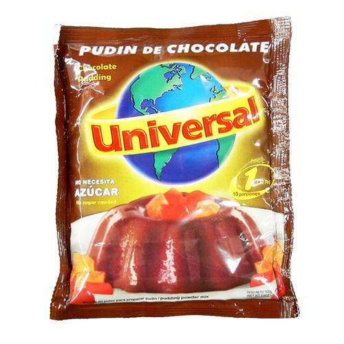 チョコレートプリンの素 ユニバーサル 100g Chocolate Pudding Universal 100g