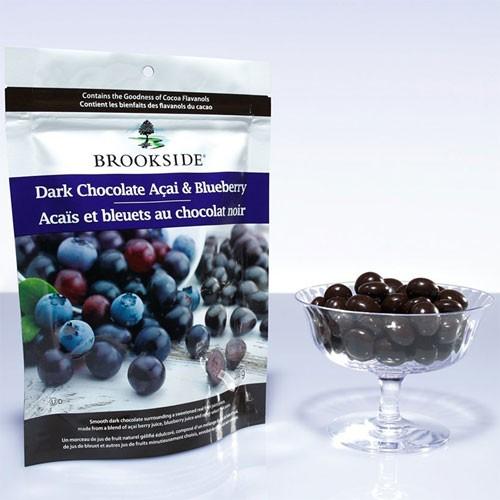 ブルックサイド ダークチョコレート アサイー&ブルーベリー 200g 【フルーツチョコレート】【チョコレート カナダ】【アサイーチョ