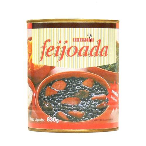 【お買得】フェイジョアーダ 830g feijoada BONAPETT 【ブラジル料理】【フェジョン】【非常食】【保存食】【長期保存】