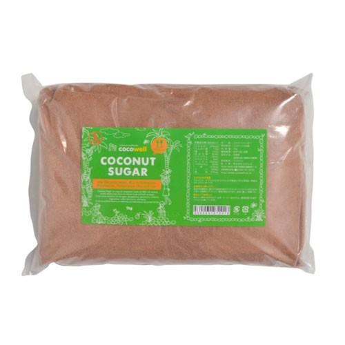 【お買得】ココウェル ココナッツシュガー 1kg 【cocowell coconut sugar】【砂糖 健康食品】【ミランダカー】 【ココナツシュガー】