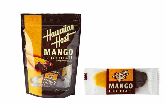 ハワイアンホースト ドライマンゴーチョコレート 120g ドライマンゴー マンゴー ドライフルーツ 輸入菓子 スナック ドライフルーツ