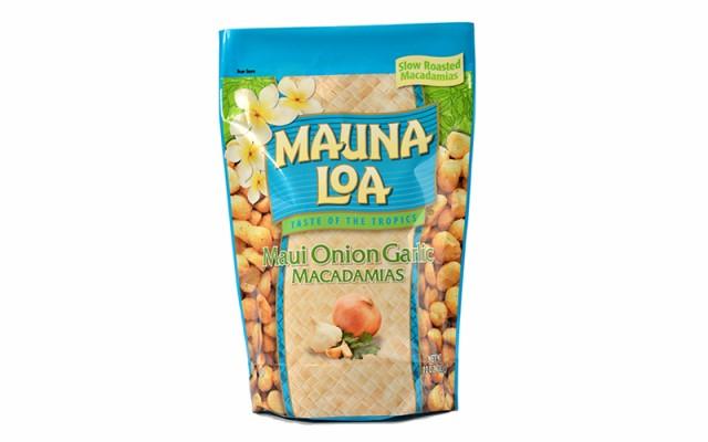 送料無料 マウナロア MAUNALOA マウイオニオン ガーリック マカダミアナッツ 283g ×3袋 ナッツ・豆菓子 ハワイ 食品 ハワイお菓子