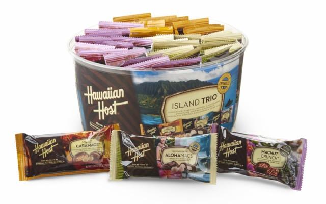 アイランドトリオ 30.6oz(36袋)864g ハワイのチョコレート 輸入チョコ マカダミアナッツチョコレート マカダミアナッツ 海外チョコレー