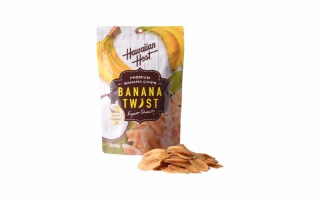 ハワイアンホースト バナナツイスト 80g フィリピン産
