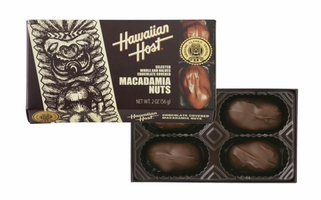 マカデミアナッツチョコレートTIKI 2oz(4粒)×6箱 ハワイ チョコレート マカデミアナッツ チョコ ハワイのお菓子 輸入菓子 輸入チョコ