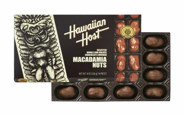 マカデミアナッツチョコレートTIKI 8oz(16粒)×6箱 ハワイ お土産 ハワイアンホースト マカダミアナッツチョコレート ハワイ 食品 ハワ