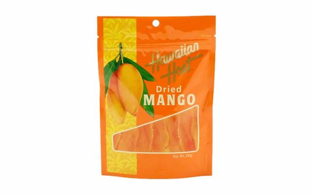 ハワイアンホースト ドライマンゴー 100g×6袋 カラバオ種マンゴー フィリピンの定番 ドライフルーツ 乾燥果実 フィリピンのおやつ 輸入