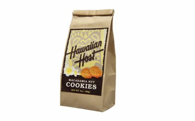 【送料無料】 ハワイアンホースト マカデミアナッツクッキーBAG(85g)×6袋 ハワイのお土産 ハワイのおみやげ マカデミアナッツ クッキー
