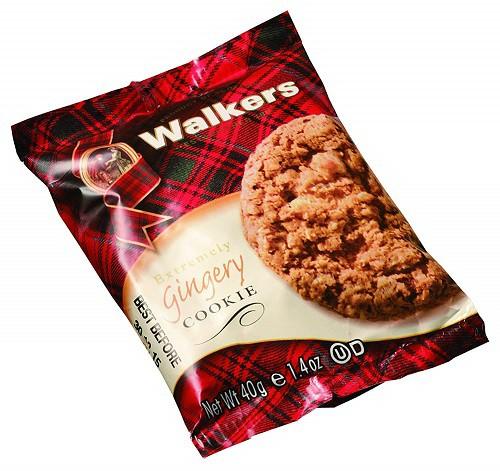 ウォーカー エクストリームリー ジンジャーリークッキー 40g×12個 輸入菓子 輸入クッキー ショートブレッド walkers フィンガー ウォー