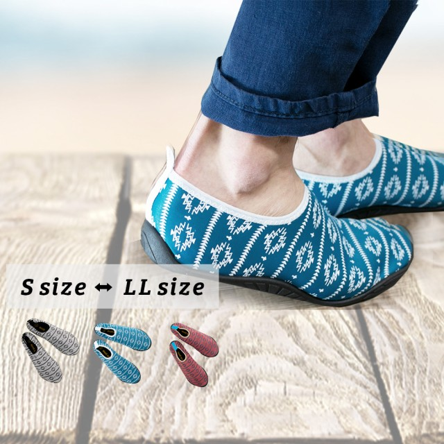 アウトドア シューズ ネイティブ柄 ヨガ 携帯スリッパ 靴 スニーカー ソール メンズ アクアシューズ フィット サンダル スポーツジム 室