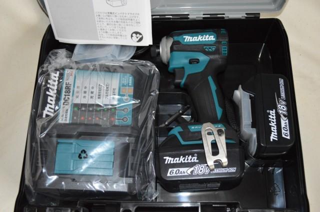 最新マキタインパクトドライバー18V 新品TD171DRGX各色(フルセット)