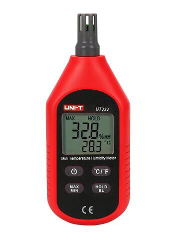 UT333 ミニタイプ温度湿度計 UNI-T 計測器 測定器 ユニット 温湿度計 温度計 湿度計