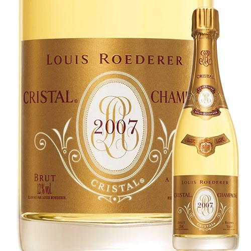 ワイン シャンパン 箱なし クリスタル ルイ・ロデレール 2012年 フランス シャンパーニュ シャンパン・白 辛口 750ml wine 家飲み